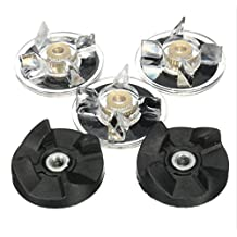 4Pcs Replacement Combo Parts Rubber Gear Drive Gear Spare Part For Magic Bullet Juice Extractor
