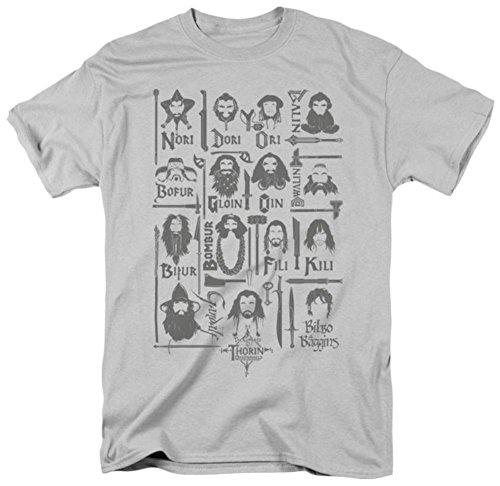 The Hobbit - The Company T-Shirt Size XXXL