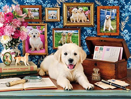Buffalo Games - A Dogs Life - The Retrievers - 750 Piece Jigsaw Puzzle