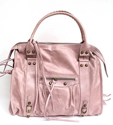 Superflybags - Bolso de asas para mujer rosa