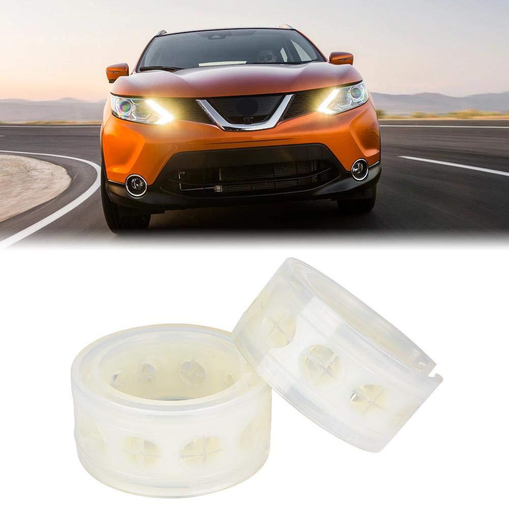 2pc Car Shock Absorber Buffer Spring Bumper Cushion Transparent TPU Type A-E D