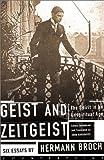 Geist and Zeitgeist, Hermann Broch, 158243168X