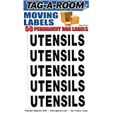 Tag-A-Room Box Content Moving Label (Utensils)