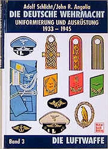 Dienstgrade und Waffenfarben der Luftwaffe//Wehrmacht Uniformen//Hand-Buch Henner