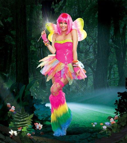 [Dreamgirl Women's Rainbow Fairy Costume, Multi, X-Large] (Fairies Costumes For Women)
