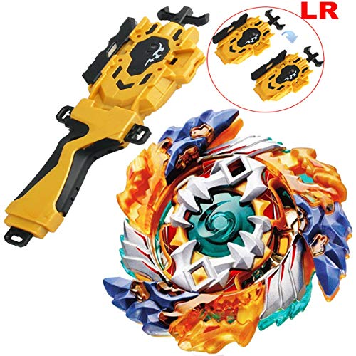Gold LR String Launcher Grip Bey Battling Top Set Burst Blades Evolution God Bey Battle Booster Starter Gyro Bay Battle Top B-122 Geist Fafnir. 8' Novelty Spinning Game Toy Gift for Boys from CombatGyro