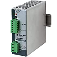 ASI XCSF85B DIN Rail Mount Power Supply with Pluggable Wire Connections, 12 to 15 VDC, 6 amp, 85W Output, 90 to 264 VAC Input
