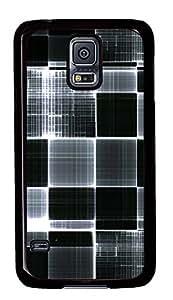 Samsung S5 slim case Line Pattern Black And White PC Black Custom Samsung Galaxy S5 Case Cover