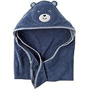 Carter's Hooded Bath Towel - Little Bear - Blue