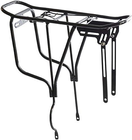 SZJ Bicicleta portaequipajes Aleación de Aluminio Soporte Universal para Bicicletas - Portaequipajes Ajustable Equipaje Portaequipajes Portaequipajes para Bicicletas 26-29 Carga máxima 25 KG: Amazon.es: Deportes y aire libre