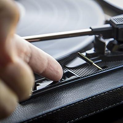 ION Audio Compact LP Black - Tocadiscos de 3 velocidades con ...