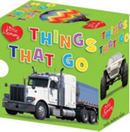 Read Online Little Library, Things That Go: Emergency / Farm / Flying / Trucks / Diggers / Cars pdf epub