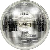 SYLVANIA H6024 XtraVision Halogen Sealed Beam Headlight (7' Round) PAR56, (Contains 1 Bulb)