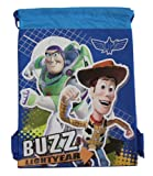 Blue Buzz Lightyear Drawstring Bag – Kids Drawstring Backpack For Sale