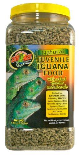 All Natural Juvenile Iguana Pellet Food 5lb by Zoo (Iguana Juvenile Pellet)