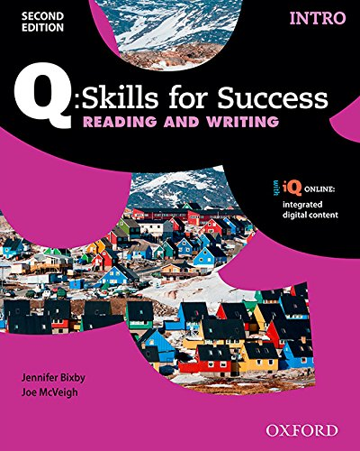 Q:Skills for Success 2E Reading and Writing Intro Student Book