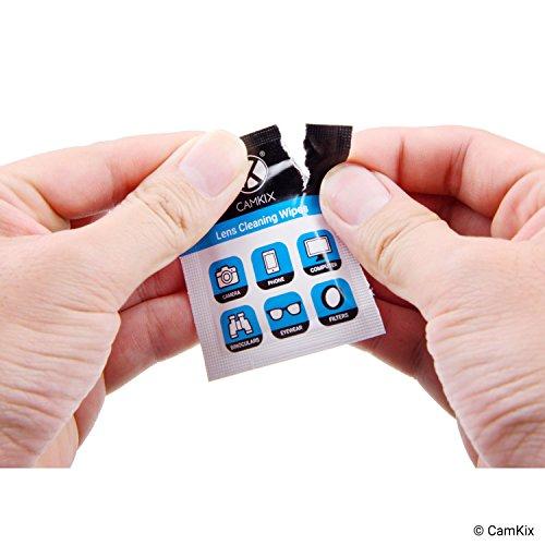[해외]렌즈 및 스크린 클리닝 키트 - 5 개의 마이크로 화이버 천, 50 개의 개별적으로 감싼 젖은 티슈 - 안경, 선글라스, 카메라 렌즈, 전화 태블릿 Sc/Lens and Screen Cleaning Kit - 5 Microfiber Cloths, 50 Individually Wrapped Wet Tissues - For E...