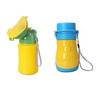 Fenteer 2Pcs Leak Proof Design Baby Kids Emergency Toilet Bottle Boy + Girl