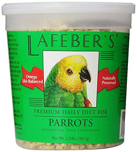 - Lafeber's Premium Daily Diet Pellets for Parrots 1.25 lb Tub