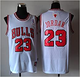 best service 8a07e 5391e Amazon.com : Nike Chicago Bulls, Michael Jordan Jersey White ...