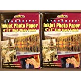 "StarBrite Inkjet Photo Paper 4""x6"" by StarBrite"