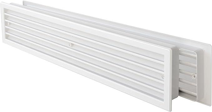 /Grille/ Grille Ventilation/ /Grille de ventilation/ /Double face occultant de porte de porte de porte 500/x 90/mm/ /E /Grille de ventilation/ /Blanc/