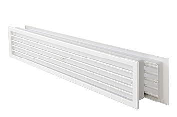 La ventilación ptt459b-y Rejilla Telescópica de plástico ...