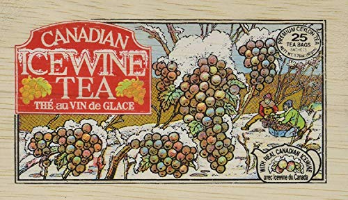 Metropolitan Canadian Ice Wine Tea In Decorative Wooden Box 25ct ()