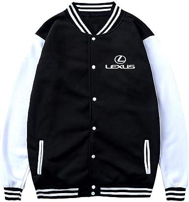 Mens Letterman Varsity Hoodie College Baseball Coat Outwear Jacket Sweatshirt