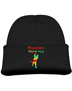 A Warm Hug From Russian Baby Beanie Warm Knitted Hat