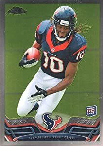 2013 Topps Chrome Houston Texans Football Card #154A DeAndre Hopkins Rookie