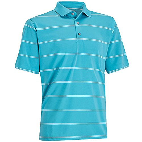 Ashworth EZ-SOF Stripe Golf Shirt