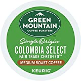 Green Mountain Coffee Roasters Colombia Select, Single-Serve Keurig K-Cup Pods, Medium Roast Coffee, 72 Count