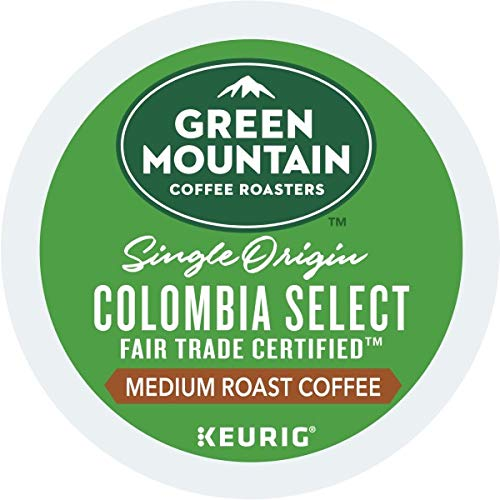 Green Mountain Coffee Fair Trade Colombian Select, K-Cup Portion Pack for Keurig K-Cup Brewers (Pack of 48) -