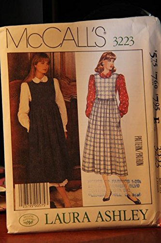McCall's Pattern 3223 Size 12 / Laura Ashley / Misses' Blouse And Jumper