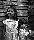 Jack Delano: Children in Utuado, Puerto Rico, 1942 - Restored Photograph - Art Print