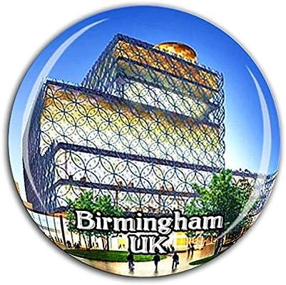 Biblioteca de Birmingham Birmingham Inglaterra Reino Unido Imán de ...