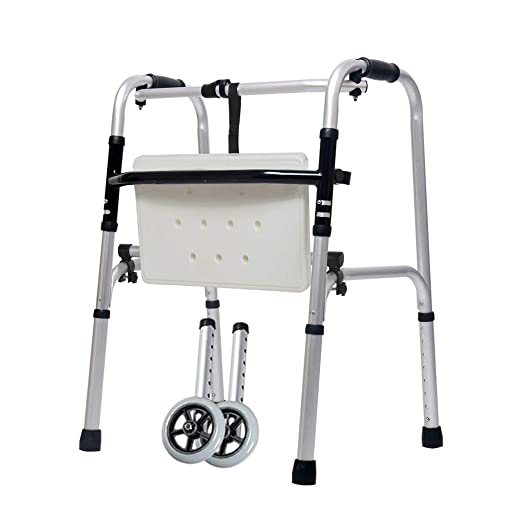 Andador Plegable 2 Redondo Para Ancianos | Caminante De Rueda ...