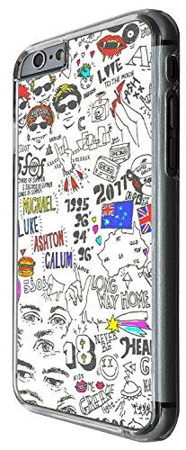 1370 - Cool Fun Trendy cute kwaii retro london music 90's 80's rock band Design iphone 4 4S Coque Fashion Trend Case Coque Protection Cover plastique et métal - Clear