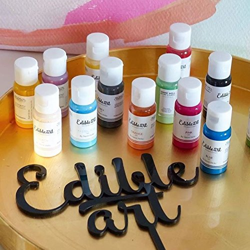 Edible Art Decorative Paint Champagne Gold 15ml by Yolli (Image #3)