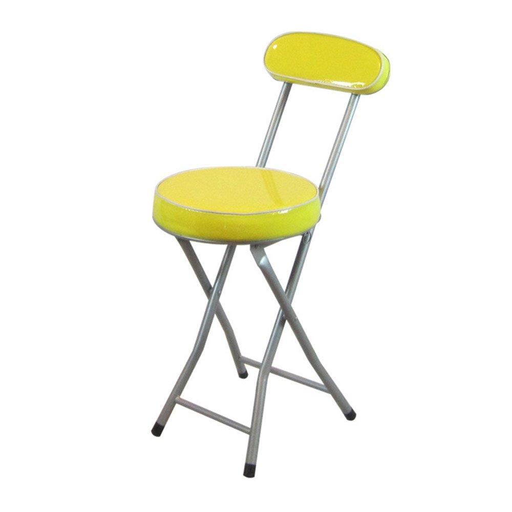 6 3  Chaises hautes (31  45.5  73cm) Fauteuil chaise pliante de dossier tabouret   (couleur   2 3)