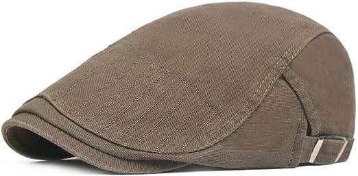 Yanshan Delgada sección de AliExpress del casquillo del sombrero de la boina jóvenes artistas próximo año, de personas en Europa y América sombrero del casquillo hacia delante: Amazon.es: Ropa y accesorios