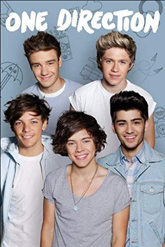 - Pyramid International One Direction English Irish Pop Boy Band Music Group Poster 24x36 Inch