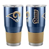 NFL St. Louis Rams Boelter 30 oz. Ultra Tumbler NFL Los Angeles Rams, black, Small