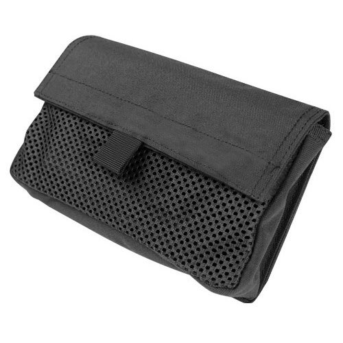 Condor Mesh Insert Utility Pouch,Black,One Size