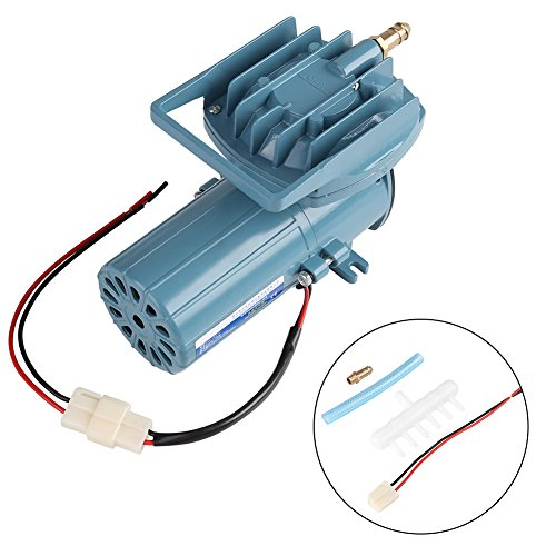 Aquarium Air Pump DC 12V 35W Air Pump Aerator for Fish Pond Aquaculture Aquarium Accessory Tool