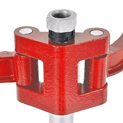 Goplus 20'' Strut Coil Spring Press Compressor Hand Operate Auto Equipment Compress, Red by Goplus (Image #6)