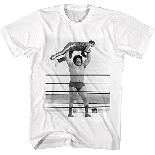 Andre The Giant WWE Lightweight Adult T-Shirt Tee by 2Bhip