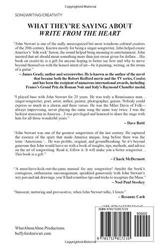 write from the heart a handbook for songwriters john stewart