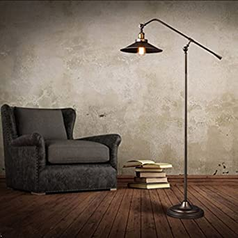 Tray 1 light industrial saucer shade adjustable arm floor lamp tray 1 light industrial saucer shade adjustable arm floor lamp black chandelier mozeypictures Images